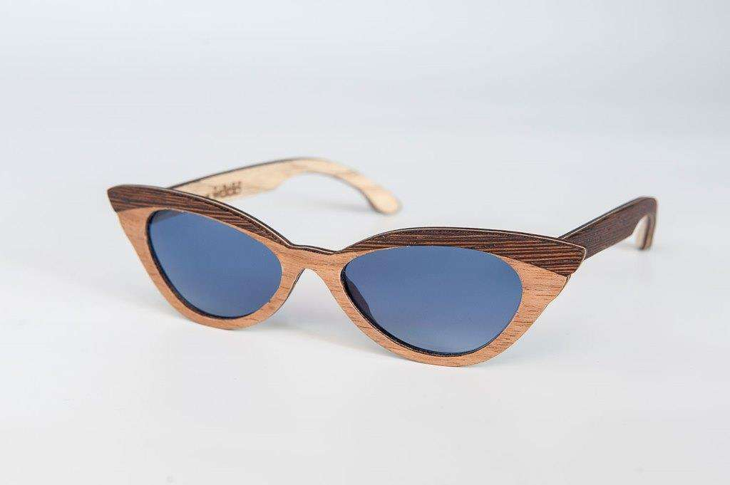 Sunglasses cat eye Vision Wood