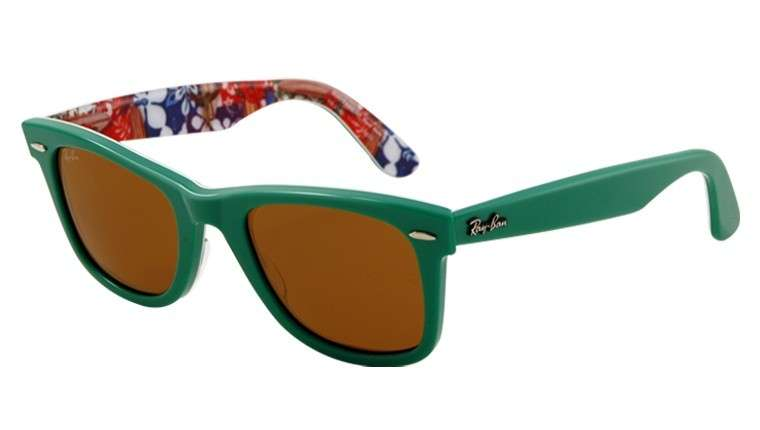 Ray-Ban occhiali da sole, Wayfarer Surf Up verde