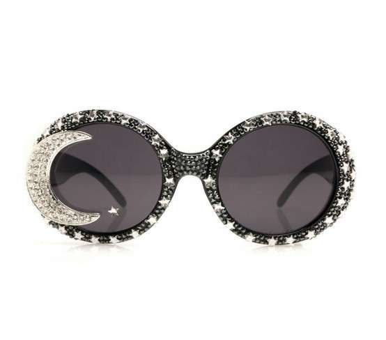 A-morir sunglasses rotondi decorati