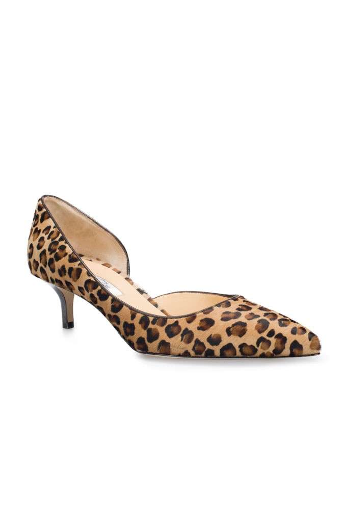 Pumps maculate Oscar De La Renta