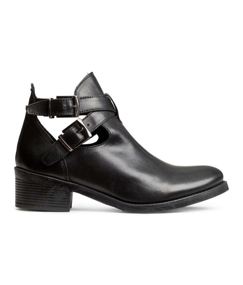 Ankle boot cut-out H&M