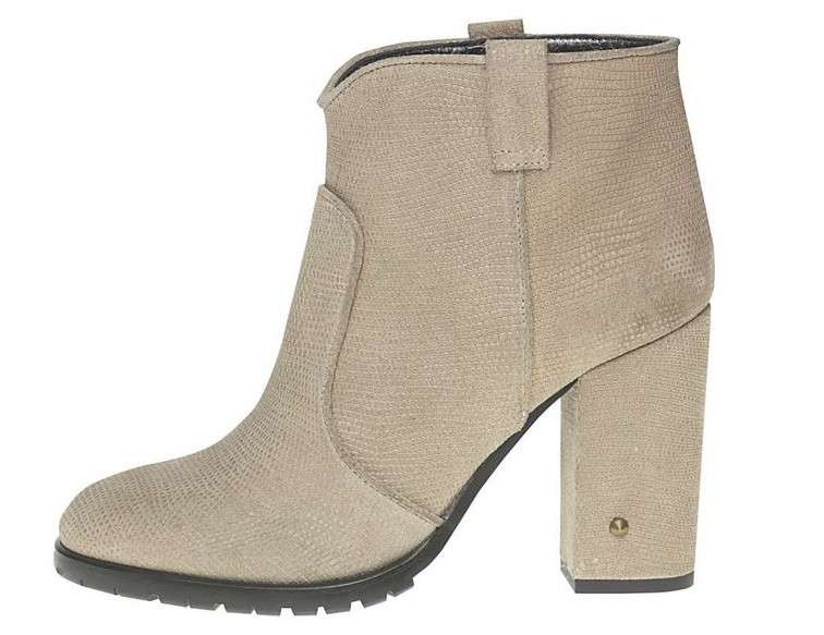 Ankle boot beige Fornarina