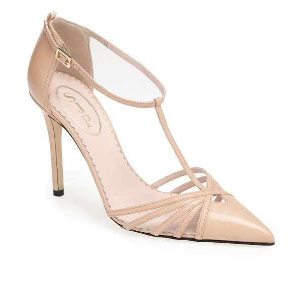 Mary jane SJP by Sarah Jessica Parker beige