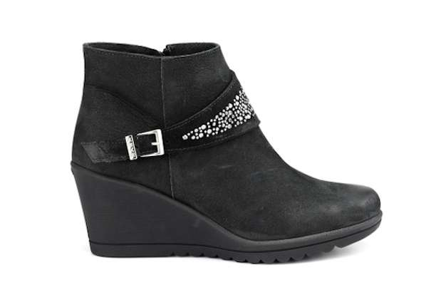 Ankle boots con zeppa