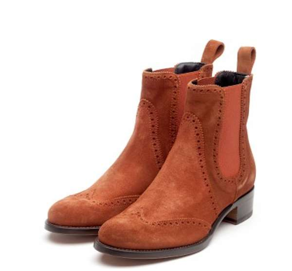 Chelsea boots color cuoio
