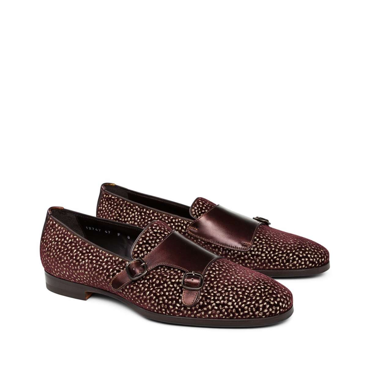 Slipper burgundy