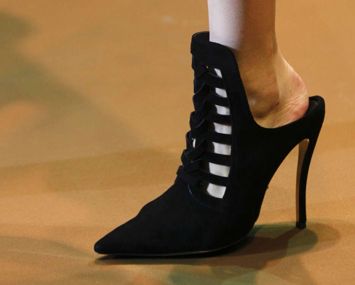 Ankle boot neri Versace