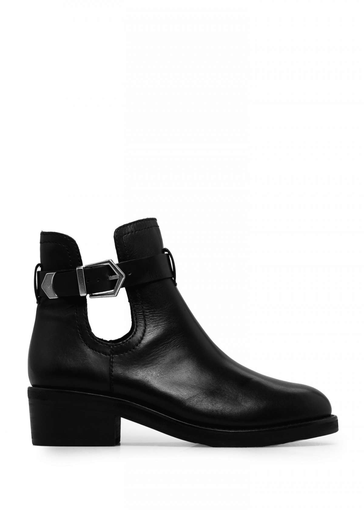 Cut out booties Mango