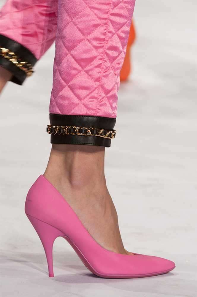 Pumps rosa Moschino