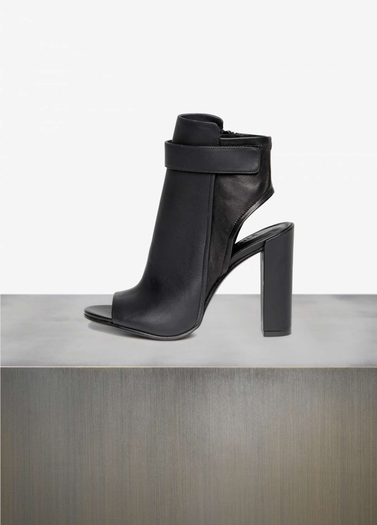 Ankle boot Vince open-toe neri