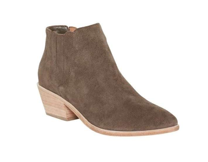 Ankle boot Joie in camoscio taupe