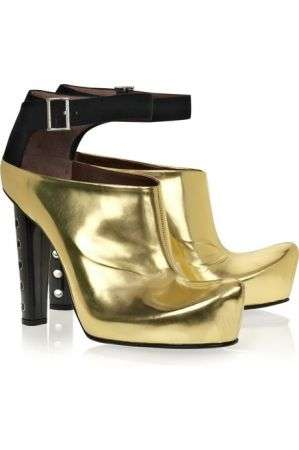 marc jacobs ankle boot oro