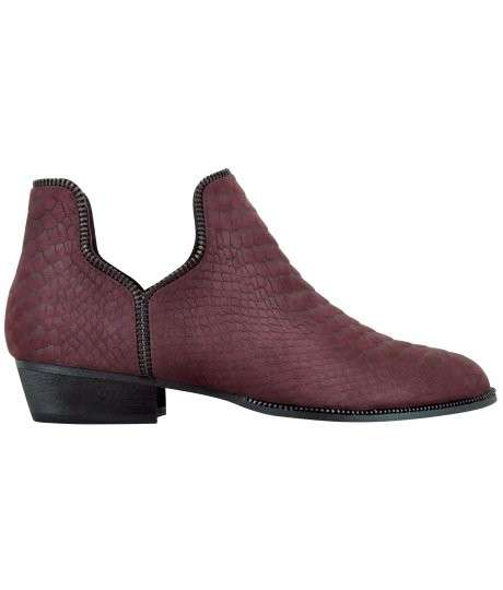 Ankle boot Senso in rettile