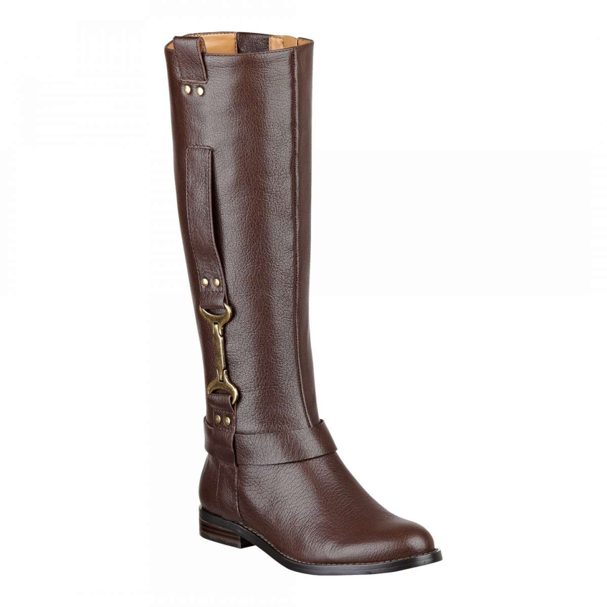 Riding boot Nine West marroni