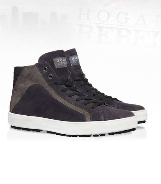 Sneakers a stivaletto grigie