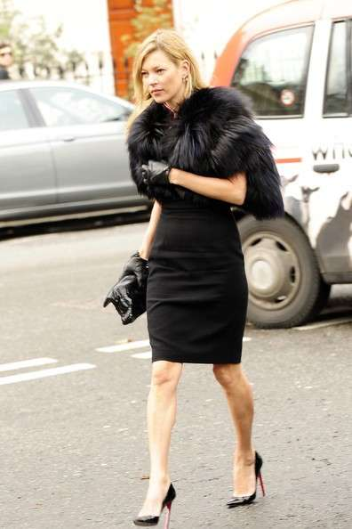 Kate Moss con le Pigalle Christian Louboutin