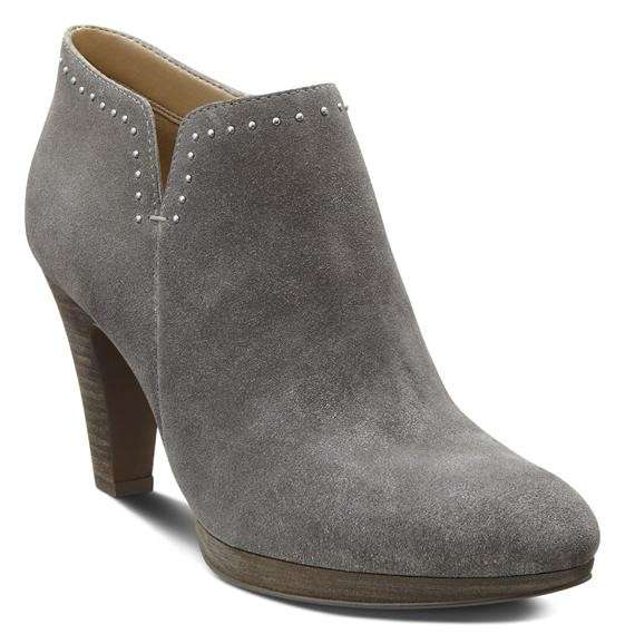 Ankle boot in camoscio
