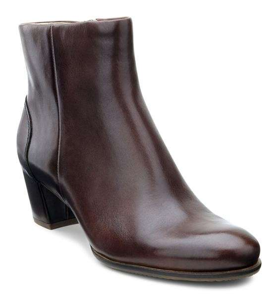 Ankle boot marroni
