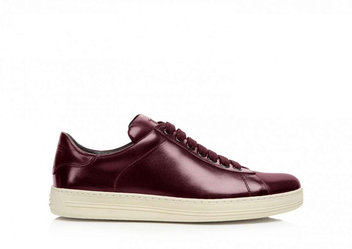 Sneakers basse marsala Tom Ford
