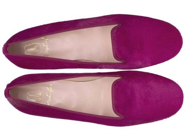 Slippers fucsia Pretty Ballerinas