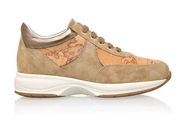 Sneakers Geo Crossing beige