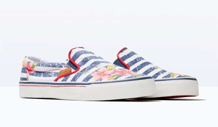 Slip on a righe Pepe Jeans London