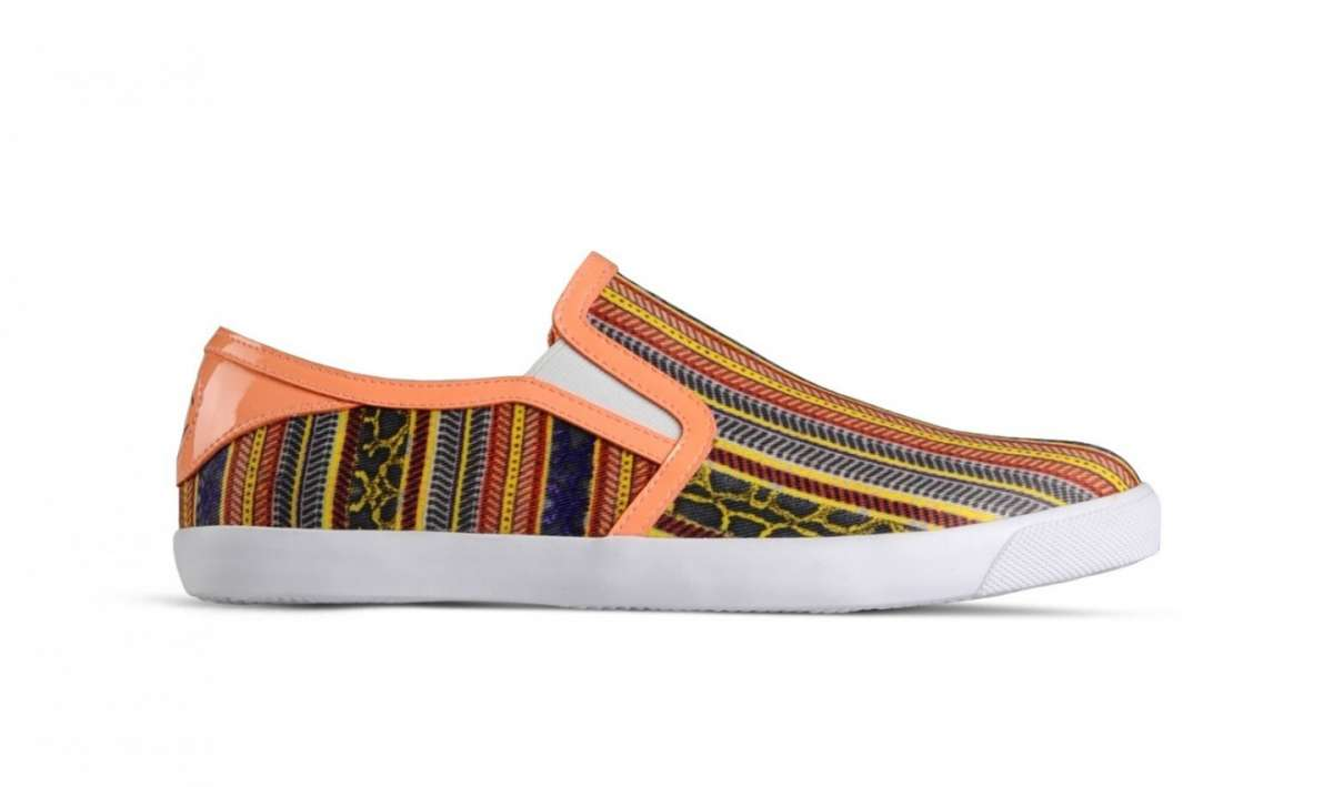 Slip on multicolor
