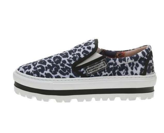 Slip on animalier