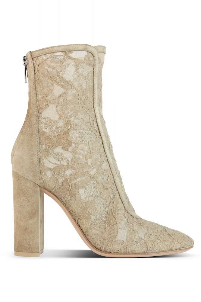 Ankle boot in pizzo Gianvito Rossi