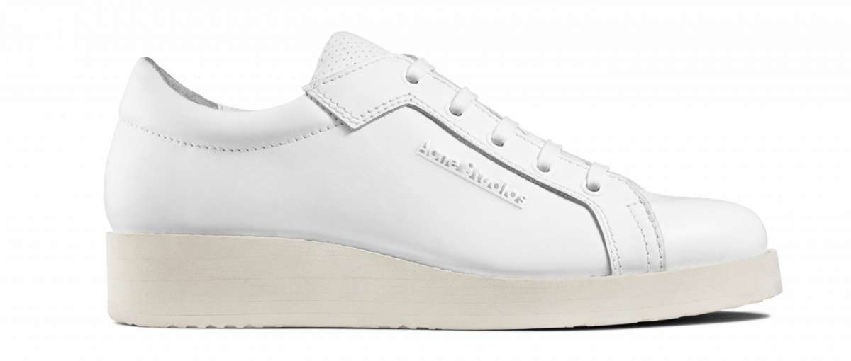 Sneakers bianche basse Acne Studios