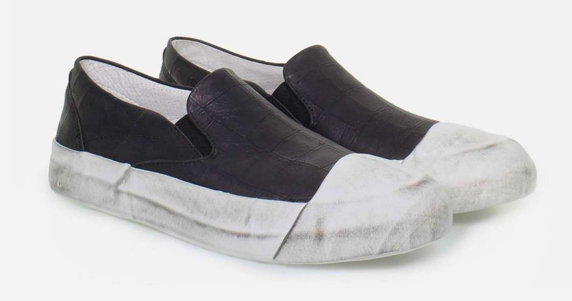 Slip on bicolor Oxs