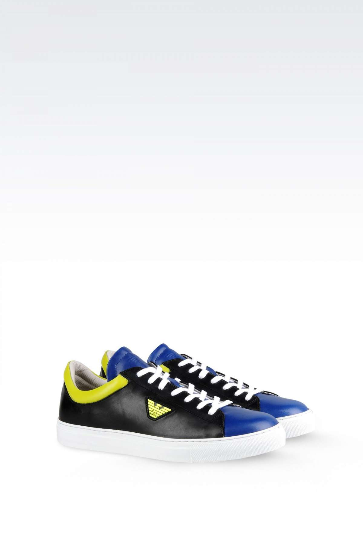 Sneakers in color block Emporio Armani