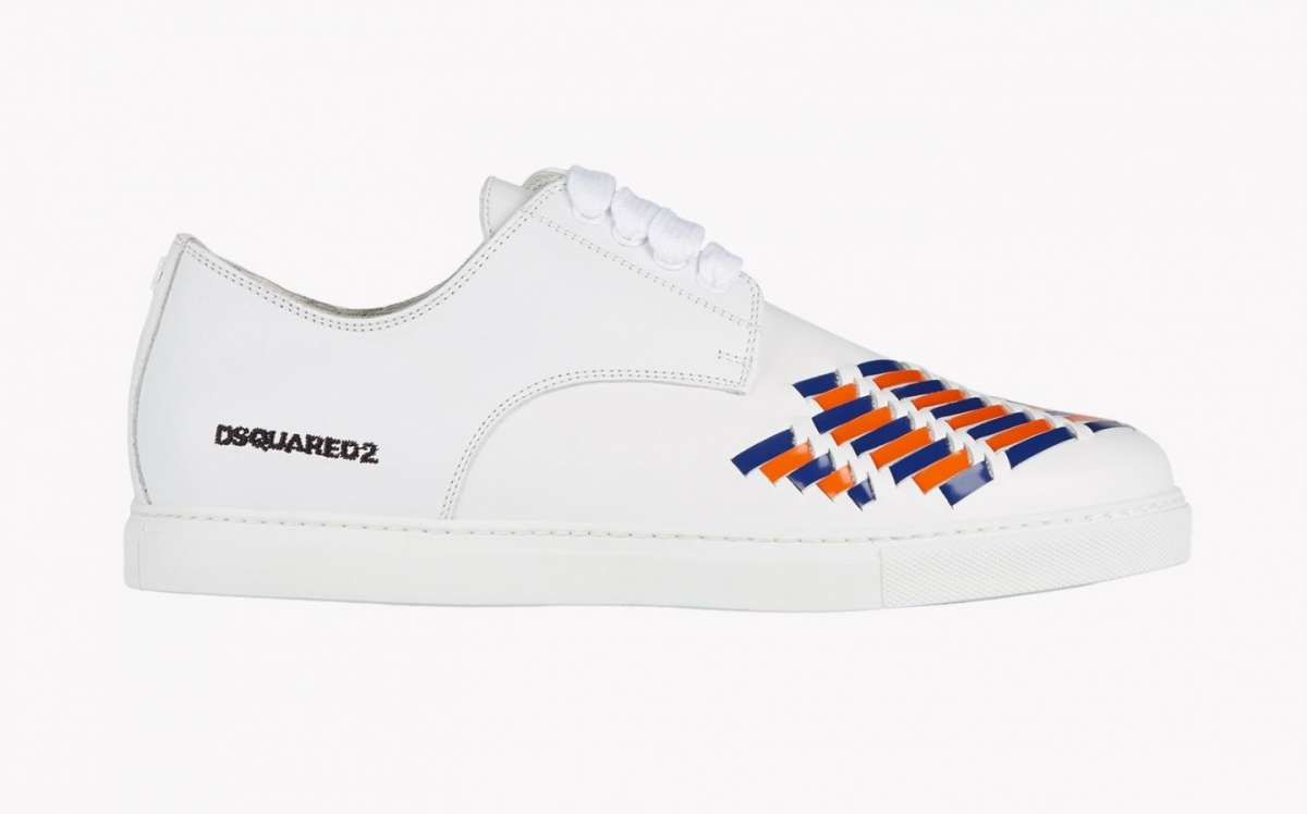 Sneakers combinate Dsquared2