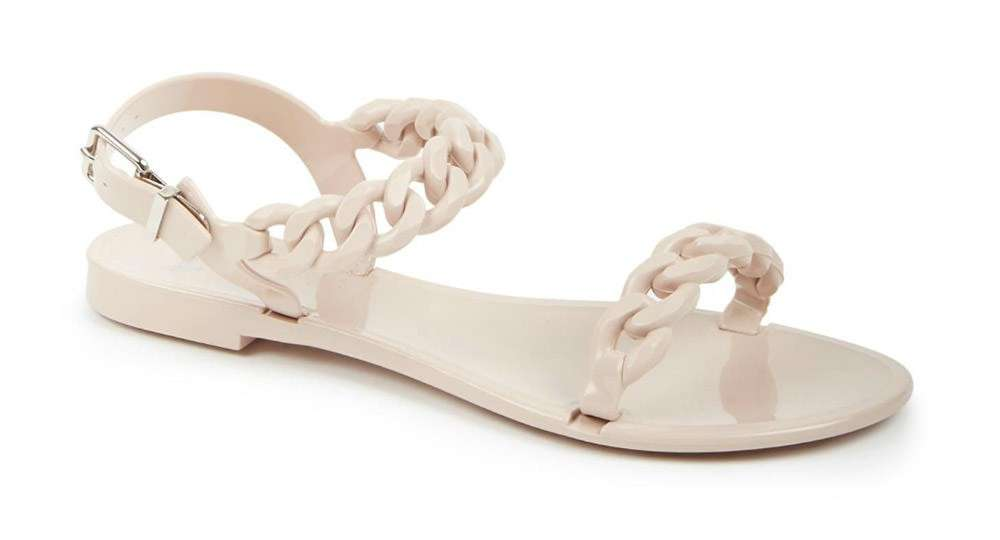 Nea Jelly Flat Sandals Givenchy