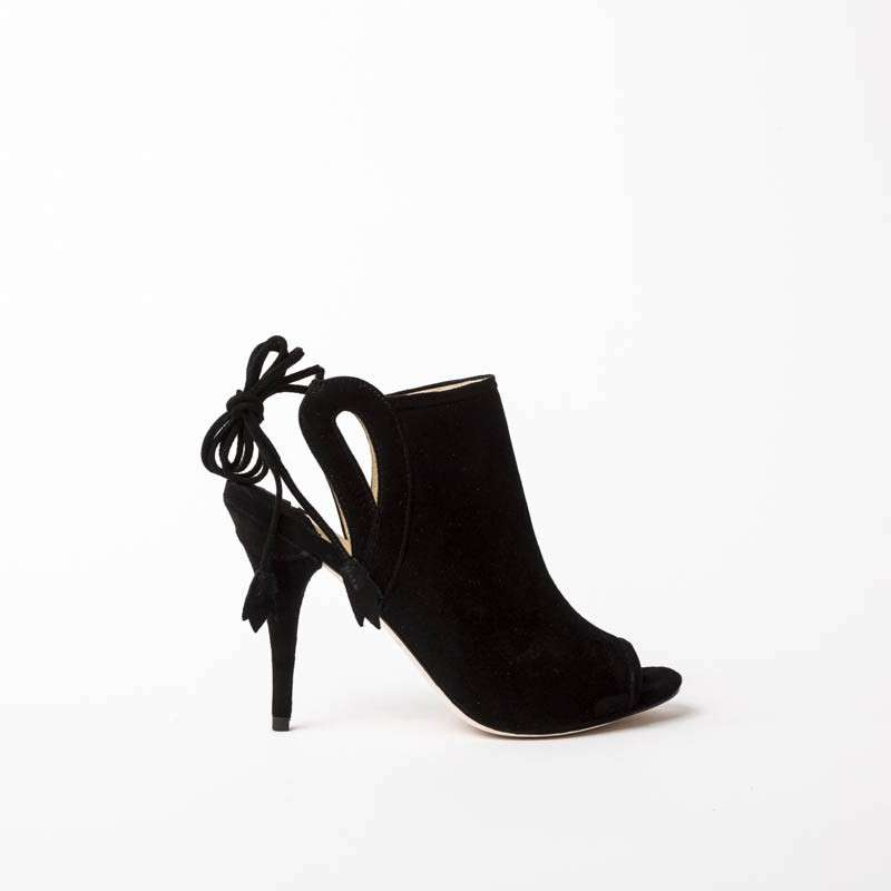 Ankle boot neri Isa Tapia