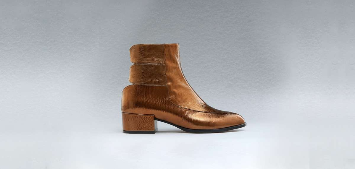 Ankle boot laminati