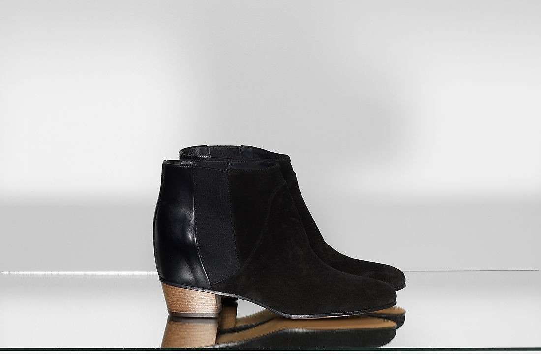 Ankle boot a punta Golden Goose scamosciati