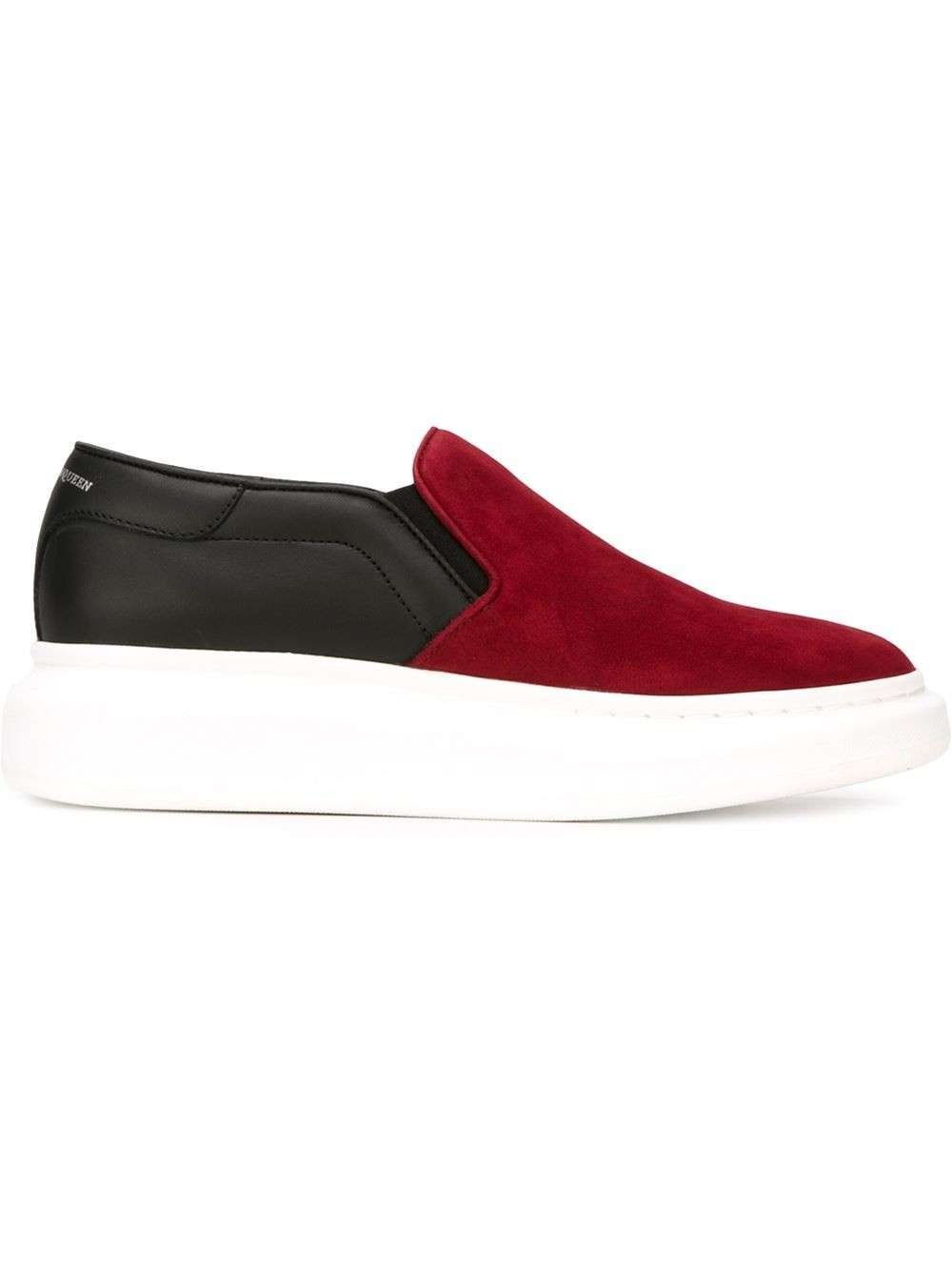 Slip on bicolor Alexander McQueen