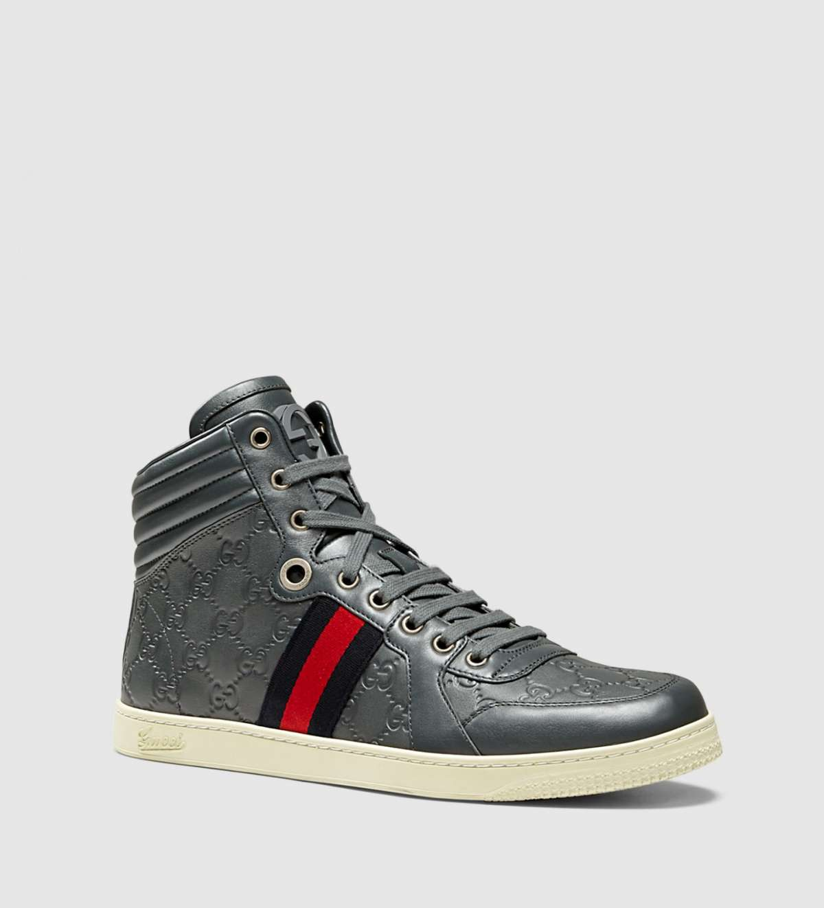 Sneakers in pelle Guccissima
