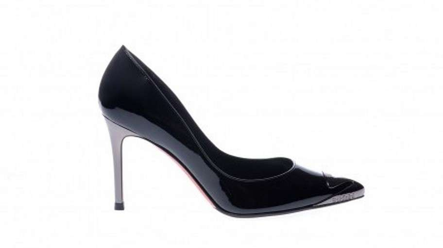 Pumps in vernice nera Baldinini
