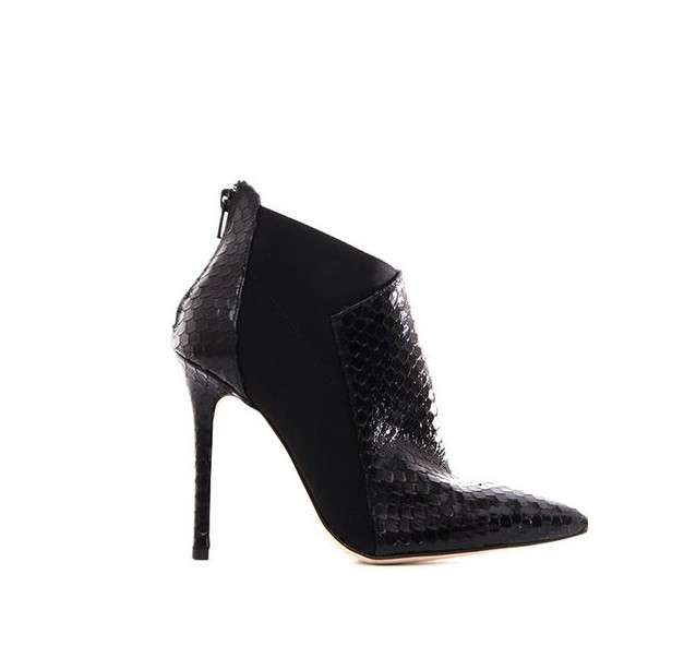 Ankle boot con tacco