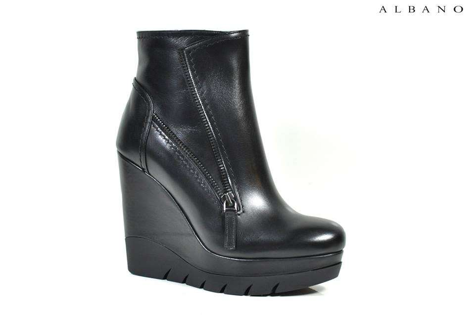 Ankle boot carrarmato Albano