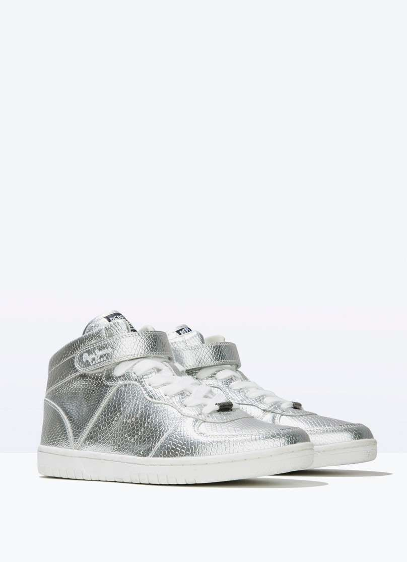 Sneakers argento Pepe Jeans London