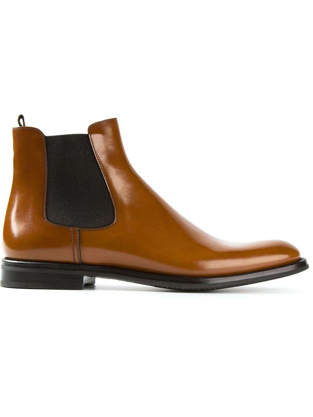 Chelsea boots caramello