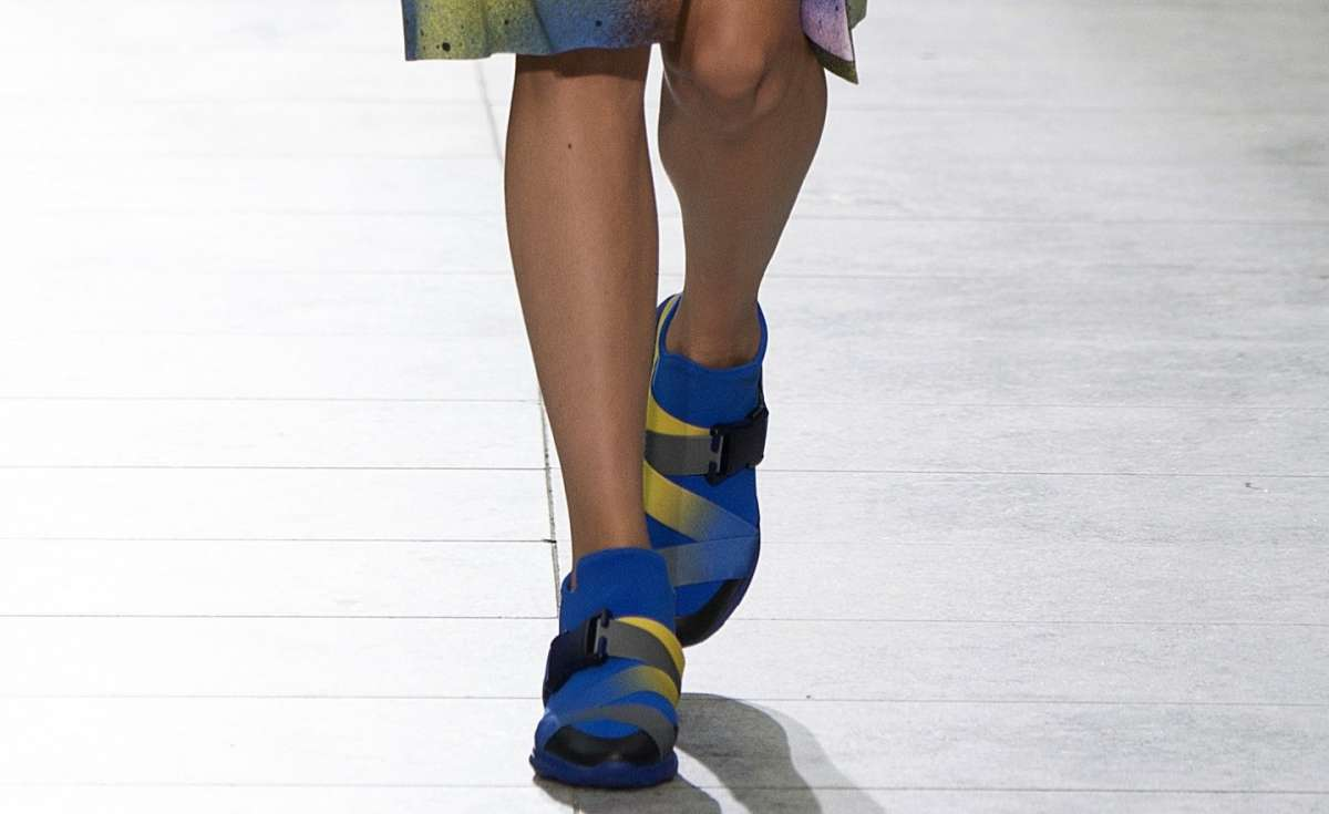 Sneakers colorate Christopher Kane