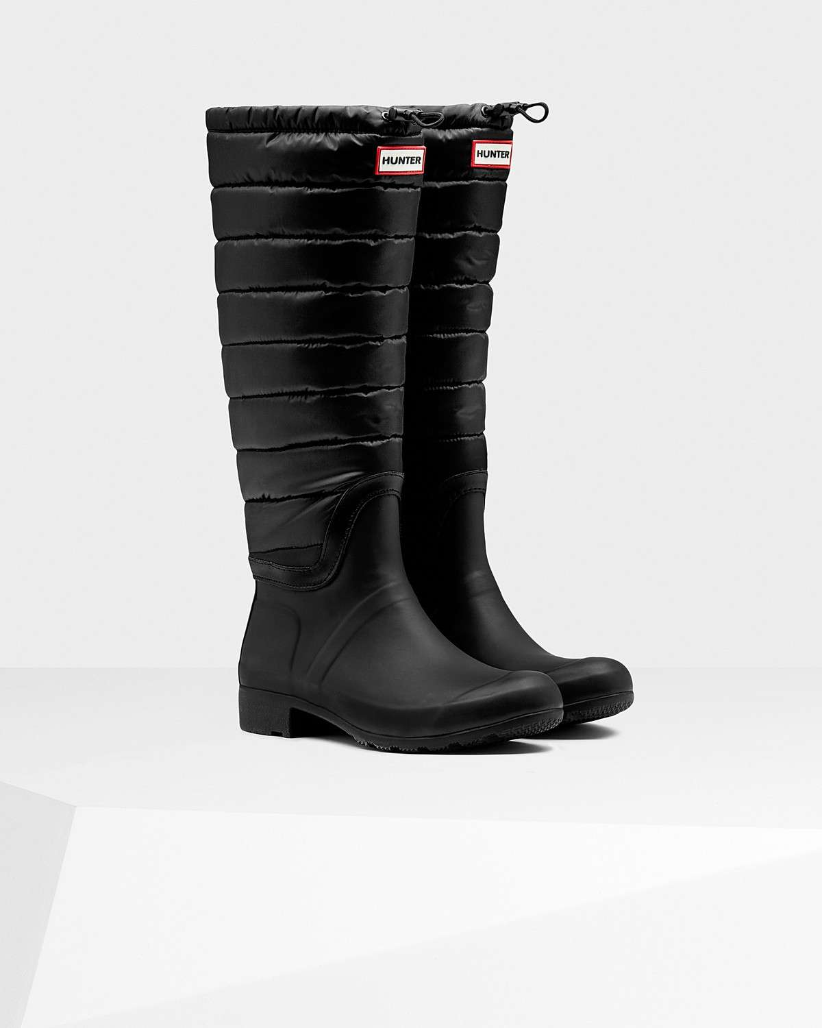 Rain boot in piumino