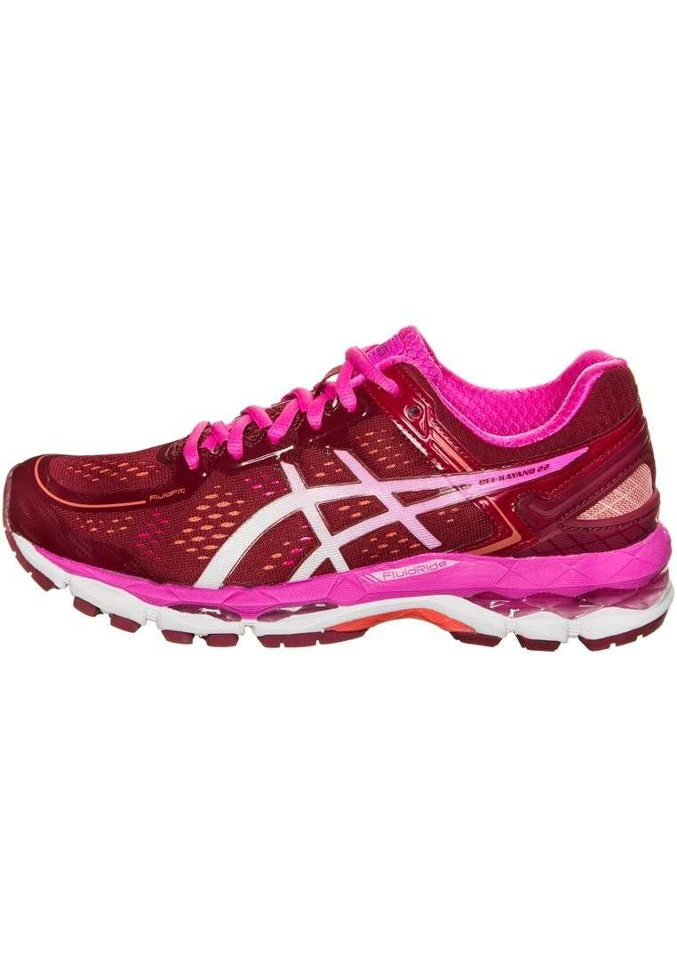 Scarpe running color ciliegia Asics