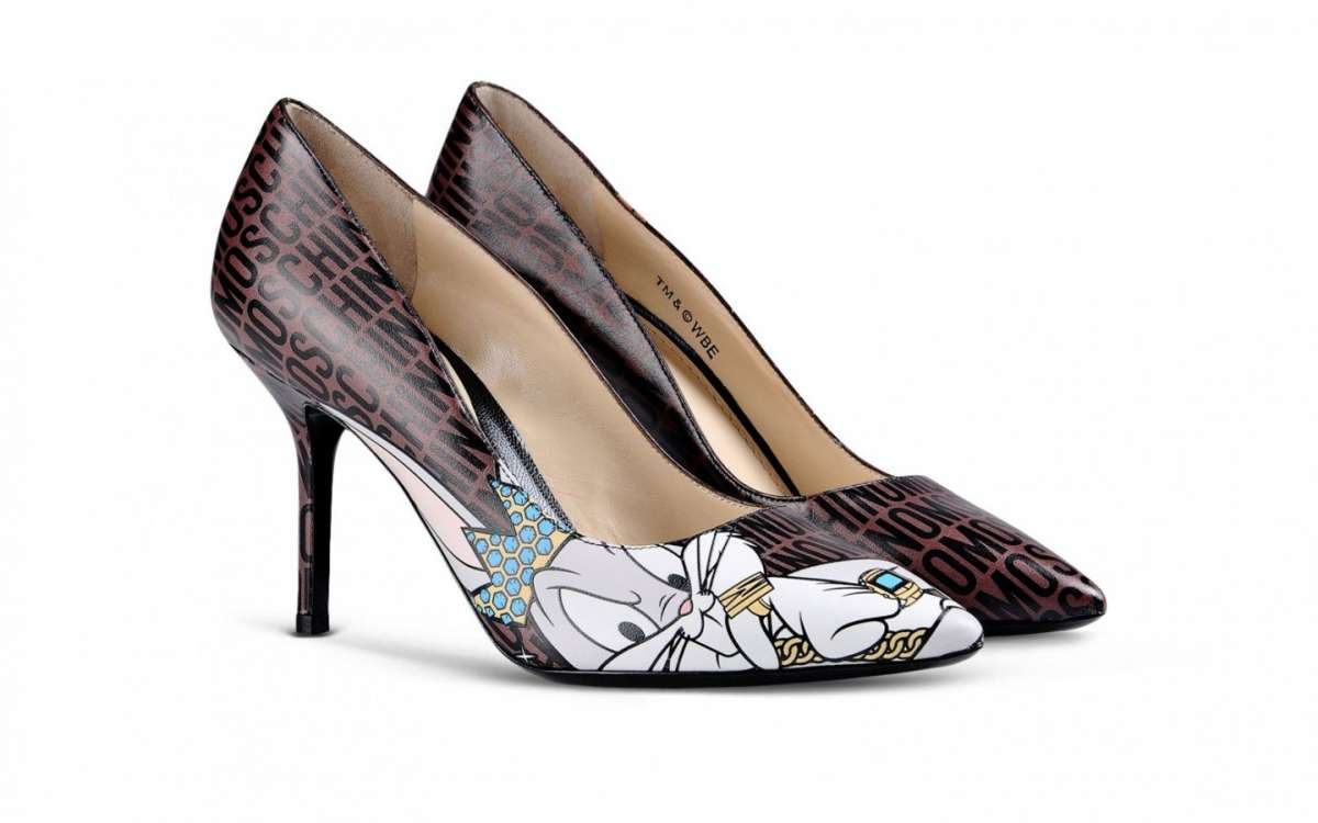 Pumps con personaggi Disney Moschino