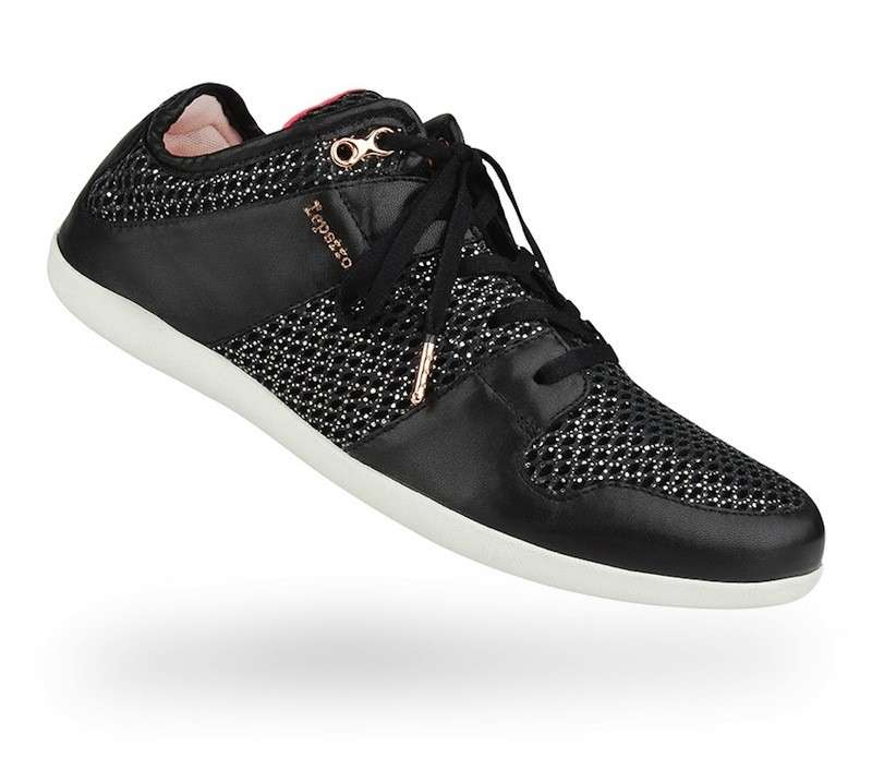 Sneakers running effetto mesh nere Repetto