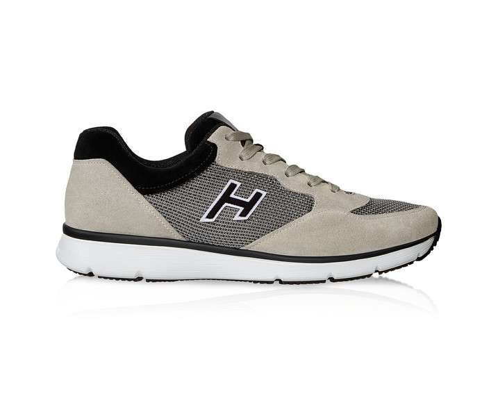Sneakers in camoscio Hogan